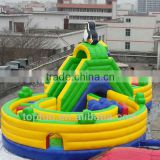 Kids Outdoor Double Circles Amusement Park