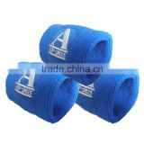New Embroidery Sport Cotton Custom Wristband And Headband Sweatband