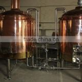Red copper 1000L drink beer factory or restaurant cheap brewing machinery Bottled filling system