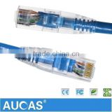RJ45 UTP Cat6 24AWG Strain Copper Network Patch Cord Cable With CE RoHS Mark