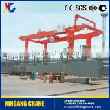High Quality Light Weight Suspension Electric Overhead Crane Double Girder Hydraulic Gantry Crane
