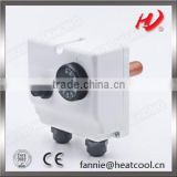 thermostat for controlling Boiler and Pipe temperature with double sensor