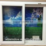 China custom high quality LG hausys brand PVC sliding windows