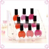 Nail polish display stand holder booking jewelry acrylic packaging organizer storage box