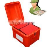 82L heat-resistant food delivery box motorcycle delivery food box plastic food delivery box
