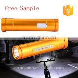 USB Rechargeable Torch Bike Light Cycling Flashlight Battery Bicycle Accessories Waterproof Lights