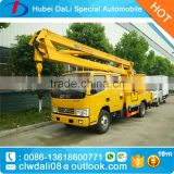 hydraulic aerial cage for tree pruning trucks, bucket trucks for tree removal, wood chipper trucks