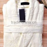 wholesale 100% bamboo fiber bathrobe terry bathrobe
