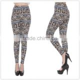 oem brand new design instocspring and autumn new stylish printed leggings bamboo print slim leggings thin bamboo cotton leggings