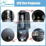 LPG Color Professional Stage Effect Fire Projetcor Machine DMX 200W Fire Machine 1~3 Meter Flame