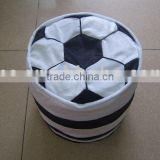 JM7768 plush inflatable stool with football shape