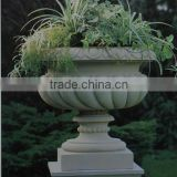 Natural Stone Carving granite & marble flower pots, flowerpot wholesale for Garden                                                                         Quality Choice