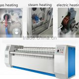 Long service life double rollers linen laundry press ironing machine with full stainless steel
