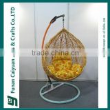 classic style bird nest shape best sell rattan swing chair