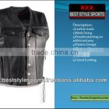 Motorcycle Leather Vests/ Motor bike leather vests/ Leather motorcyle vests