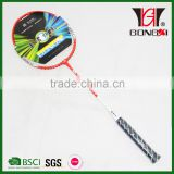 SPEED 6007 RED good design aluminium&steel ball badminton racket/top brand badminton racket/kids new sport toys