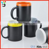 Customizable Creative Personality Leave Message Candy Color Mouth Drinkware Type Ceramic Chalk Mug