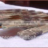 hot sale glass mosaic backsplash tile, natural stone mosaic tile