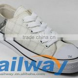 New Low Top Lattice Style Canvas Sneakers with Vulcanized Outsole All Sizes