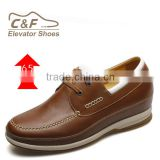 mens patent leather brown safety shoes men elevating shoes