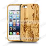 Wholesale custom wood bamboo mobile phone case for iphone 4s case.