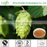 Hops extract powder natural herbal extract for cosmetic emulsion