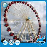China supplier 16kw 30m outdoor amusement equipment ferris wheel sky wheel sightseeing wheel for sale