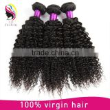 Raw unprocessed virgin natural hair color kinky curly weave raw indian hair bundle