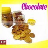 sigle package Gold Coin Chocolate with foil layer