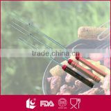 Wholesale metal telescoping marshmallow roasting sticks made in china