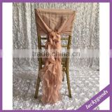 wholesale luxury baby pink banquet chiavari chair covers for weddings