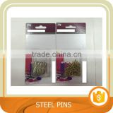 Home and office straight Steel pin, desk accessories, sliver /glod color. Trade assurance