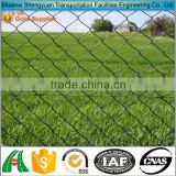 green plastic coated chain link fencing heights installation cost