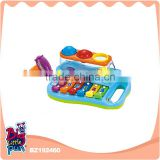 Wholesale baby instrument musical toy percussion piano toys with letters and numbers