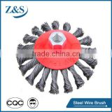 twist steel wire circular brush