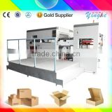 china's best semi automatic paper feed automatic stripping colour box die cutting machine