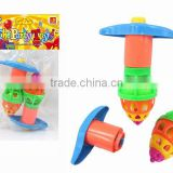 promotion play fun ABS classic light up spinning toy with EN71