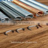 BAILY supply stainless steel hog ring staples C17 C24 C45 C20, Crown: 16.7mm, 23.8mm, 45mm or 20mm c ring nails