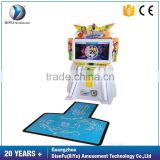 Most Attractive coin operated Somatosensory Games Indoor Amusement Dancing Jumping Machine for sale
