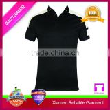 high quality customize stretch cotton t shirt, cut and sew sublimation wholesale polo shirt