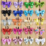 Children color sequined hair bow accessories