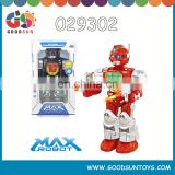 B/O big robot with light and music 360 degree rotation B/O big robot fun toys for adults 029303