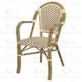 Synthetic Wicker Chairs Outdoor Commercial Restaurant Dining Chairs