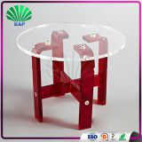 Modern Round Cake Table Transparent Wedding Coffee Table Living Room Table
