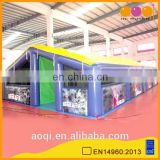 2015 new air tight inflatable tent for sale with printing