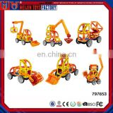 Educational chinese toys manufactures ABS magnetic intelligence building blocks for kids