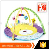 new trend china factory funny design play mats babies with BB whistle and bell