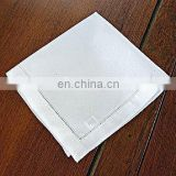 Pure White Soft High Quality Cotton Hanky