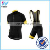 Yihao Trade Assurance 2015 new Cycling Jersey short sleeve wholesale cycling clothing set For Men