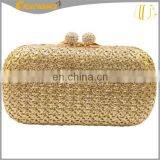 2015 new straw bag mexico, womens colorful raffia straw crochet bag